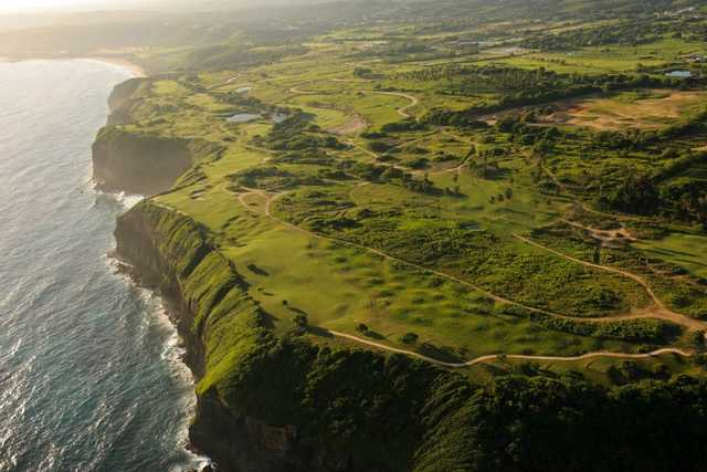 Aerial view of Royal Isabela Golf Links