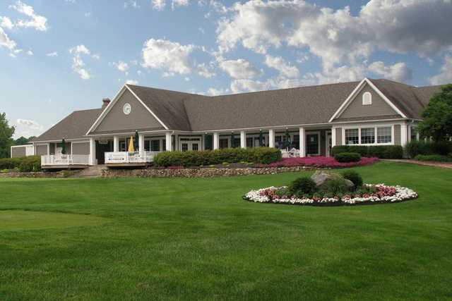 A view of the clubhouse at Penn National Golf Club & Inn