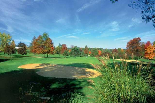 A fall view from Penn National Golf Club & Inn