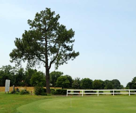 A view of the practice putting green at Glenwood Golf Club