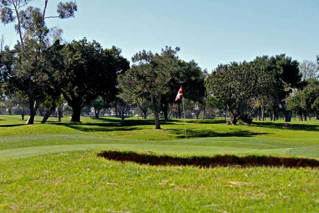 A view of green at Costa Mesa Golf & Country Club.