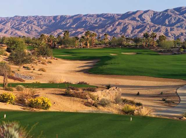 A view of the 1st hole at North Course from Toscana Country Club (Dick Durrance)