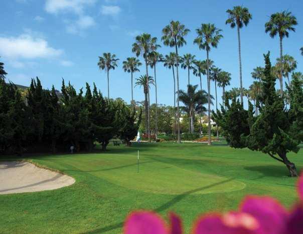 A view of green at La Jolla Beach & Tennis Club