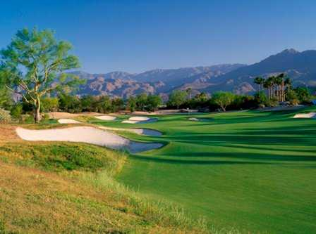 A view of the 11th hole at PGA West Greg Norman Course