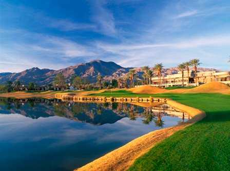 A view of hole #9 at PGA West Jack Nicklaus Tournament Course