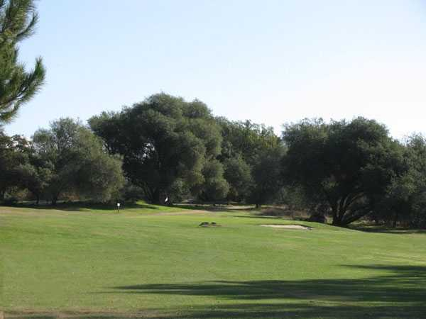 A view of the 3rd hole at Indian Creek Country Club
