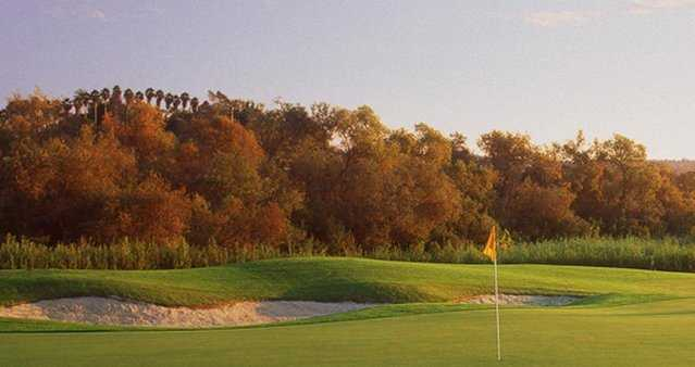 A fall view (courtesy of Arrowood Golf Course)