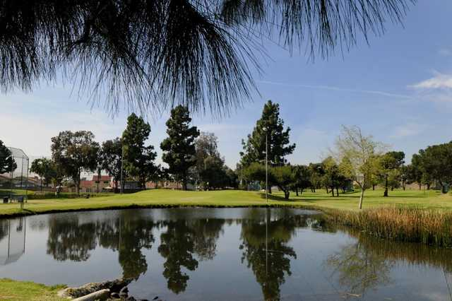View of hole #8 from Pico Rivera Municipal Golf Course.