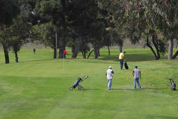 A view from Pico Rivera Municipal Golf Course