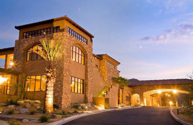 A view of the clubhouse at Ironwood Country Club