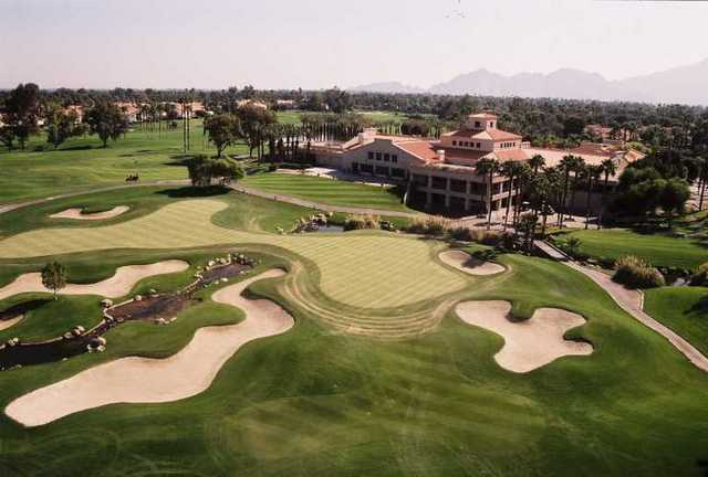 Aerial view from Desert Falls Country Club