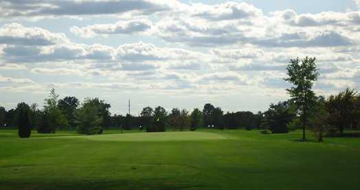 A view from a tee at Whiteford Valley Golf Club