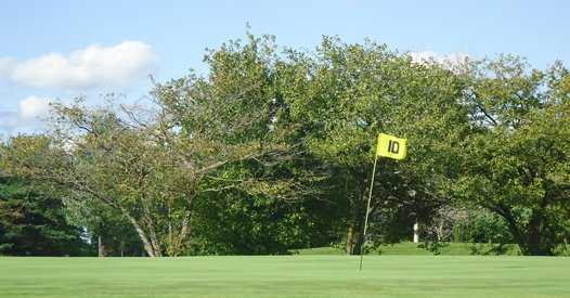 A view of a hole at Whiteford Valley Golf Club