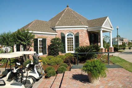 A view of the pro shop at Gray Plantation