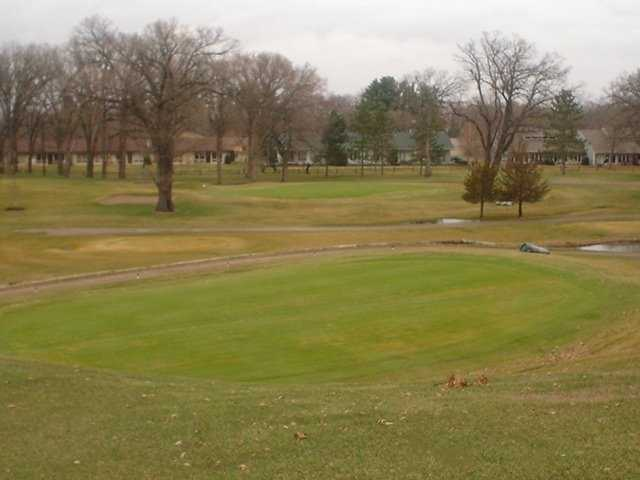 A view of hole #5 and #7 from green #17 at Monticello Country Club