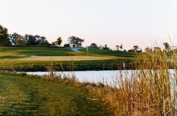 A view of the 5th green at East Course from Broken Arrow Golf Club