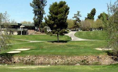 A view of hole #18 at River Island Country Club