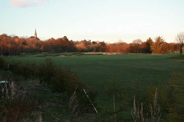 A view from Musselburgh Golf Club.