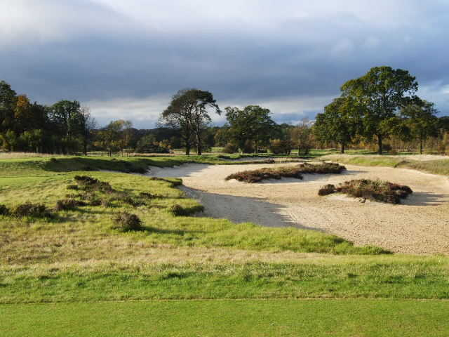 The Duke's course added or rebuilt 116 bunkers during the redesign to give a more rugged look.