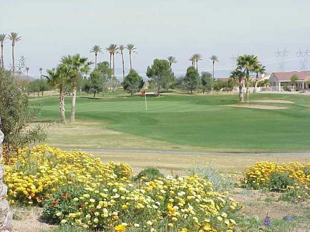 A view from Desert Trails Golf Course