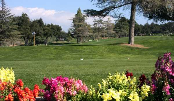 A view of a green at Redlands Country Club