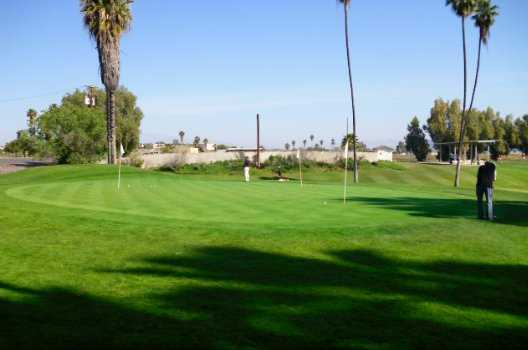 A view of the practice area at General Old Golf Course
