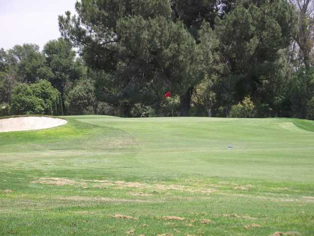 A view of the 6th hole at Paradise Knolls