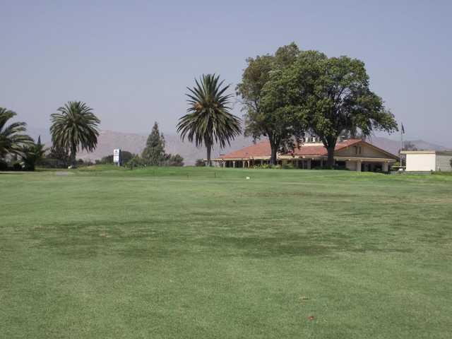 A view of the clubhouse at Paradise Knolls
