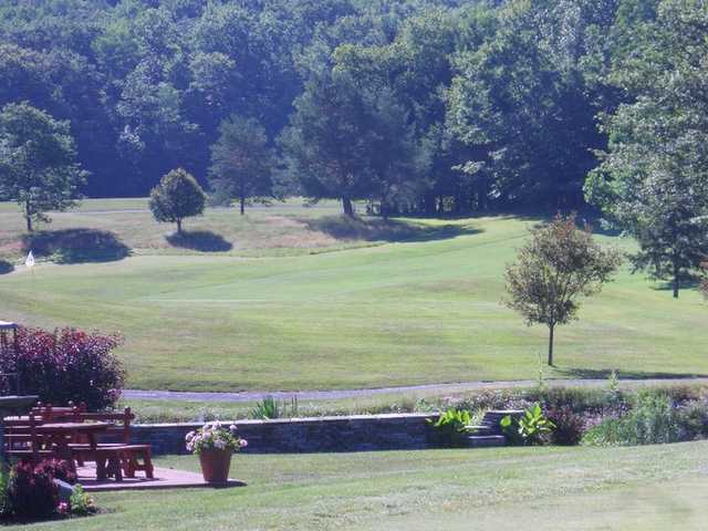 A view from the back patio at Endwell Greens Golf Club