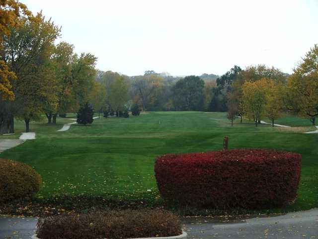 A view of the 1st hole at Valley Ridge Golf Course