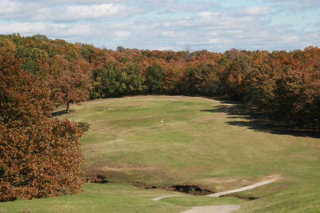 A fall view from Lakewood Golf Course
