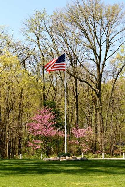 A spring view from Eagle Creek Golf Club