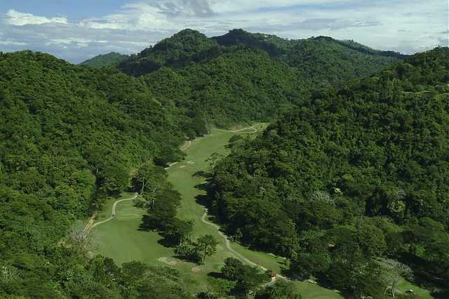 Aerial view from La Iguana Golf Course