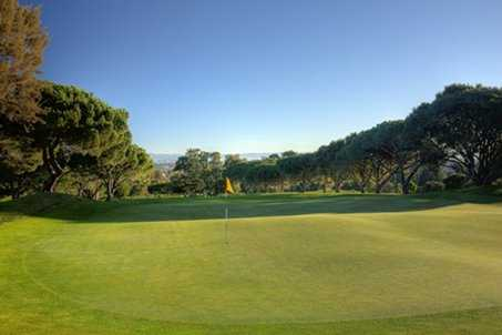 A view of the 14th green at Peninsula Golf & Country Club