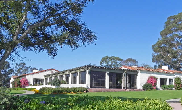 A view of the clubhouse at La Cumbre Country Club