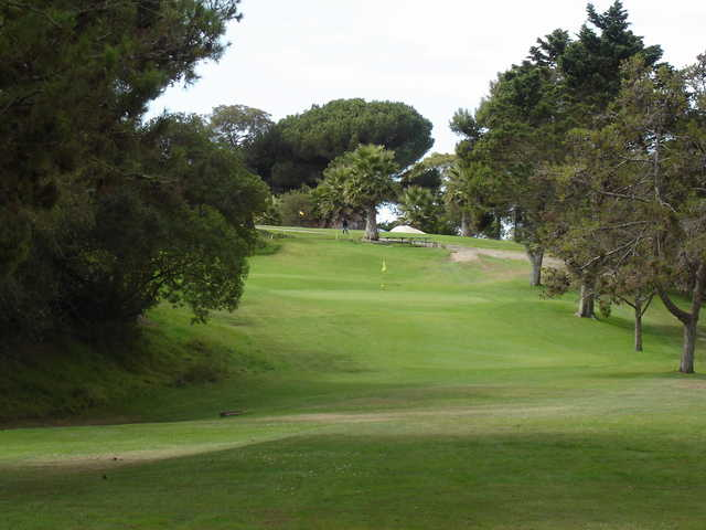 A view from tee #9 at Hidden Oaks Country Club