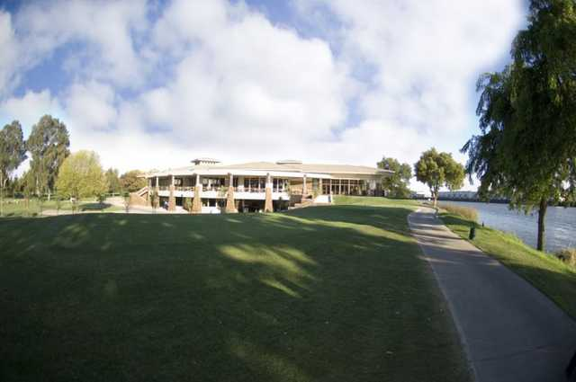 A view of the clubhouse at Stockton Golf & Country Club.