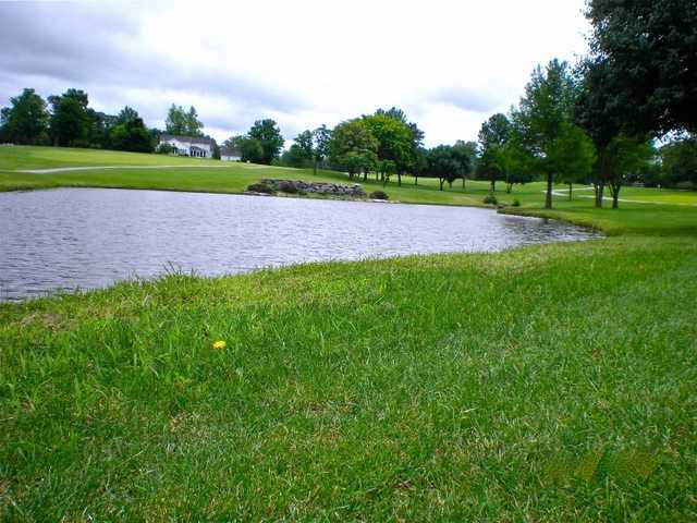 A view of the 2nd hole at Warrenton Golf Course