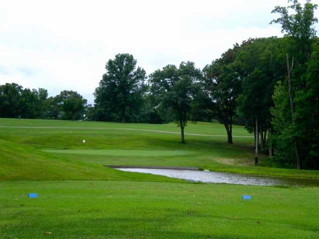 A view from the 4th tee at Warrenton Golf Course