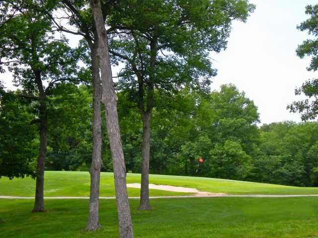 A view of the 10th green at Warrenton Golf Course