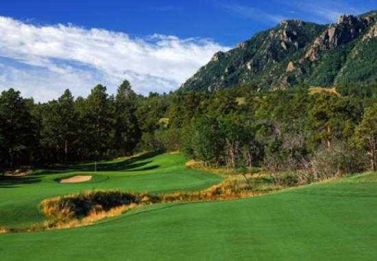 A view from Mountain at Broadmoor Golf Club