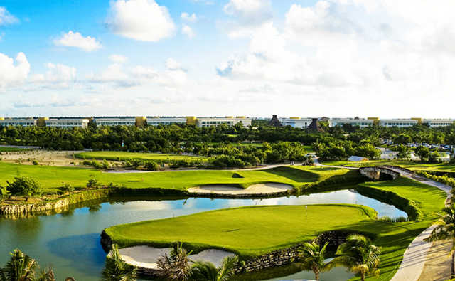 A view from The Nicklaus Par Three Experience at Vidanta Riviera Maya