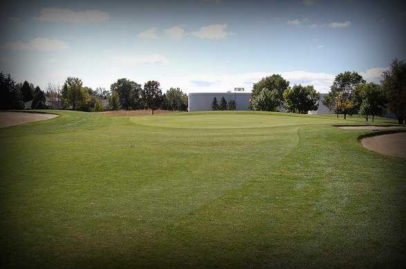 A view of the 7th hole at Regulation Nine from Cherokee Ridge Golf Course