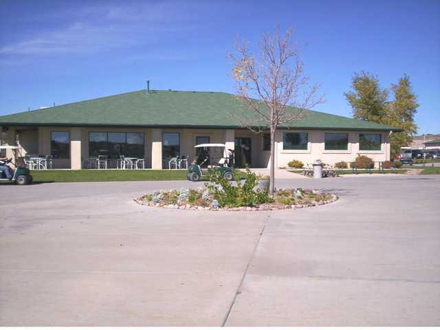A view of the clubhouse at Springs Ranch Golf Club