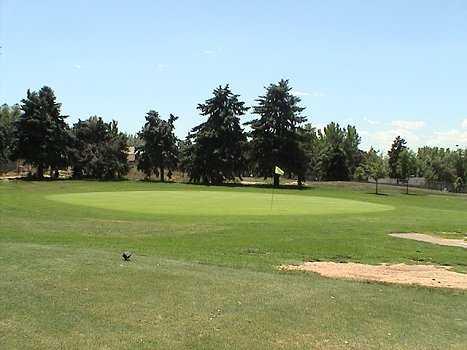 A view of hole #17 at Denver City Park Golf Course