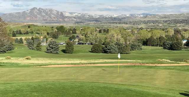 A view from Foothills Executive Golf Course