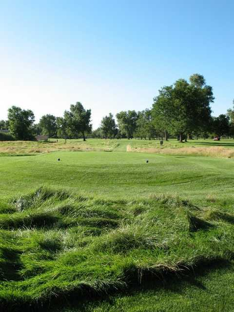 A view of tee #11 at Overland Park Golf Course