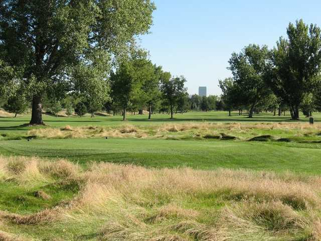 A look across the Back 9 at Overland Park Golf Course