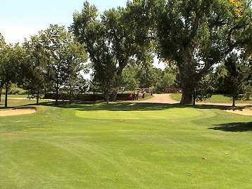A view of the 16th green at Wellshire Golf Course