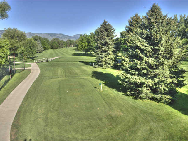 A view from the 7th tee at City Park Nine Golf Course